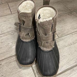 Sperry rain booties